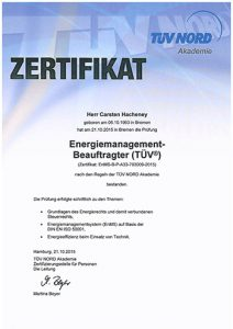 TÜV Energiemanagement